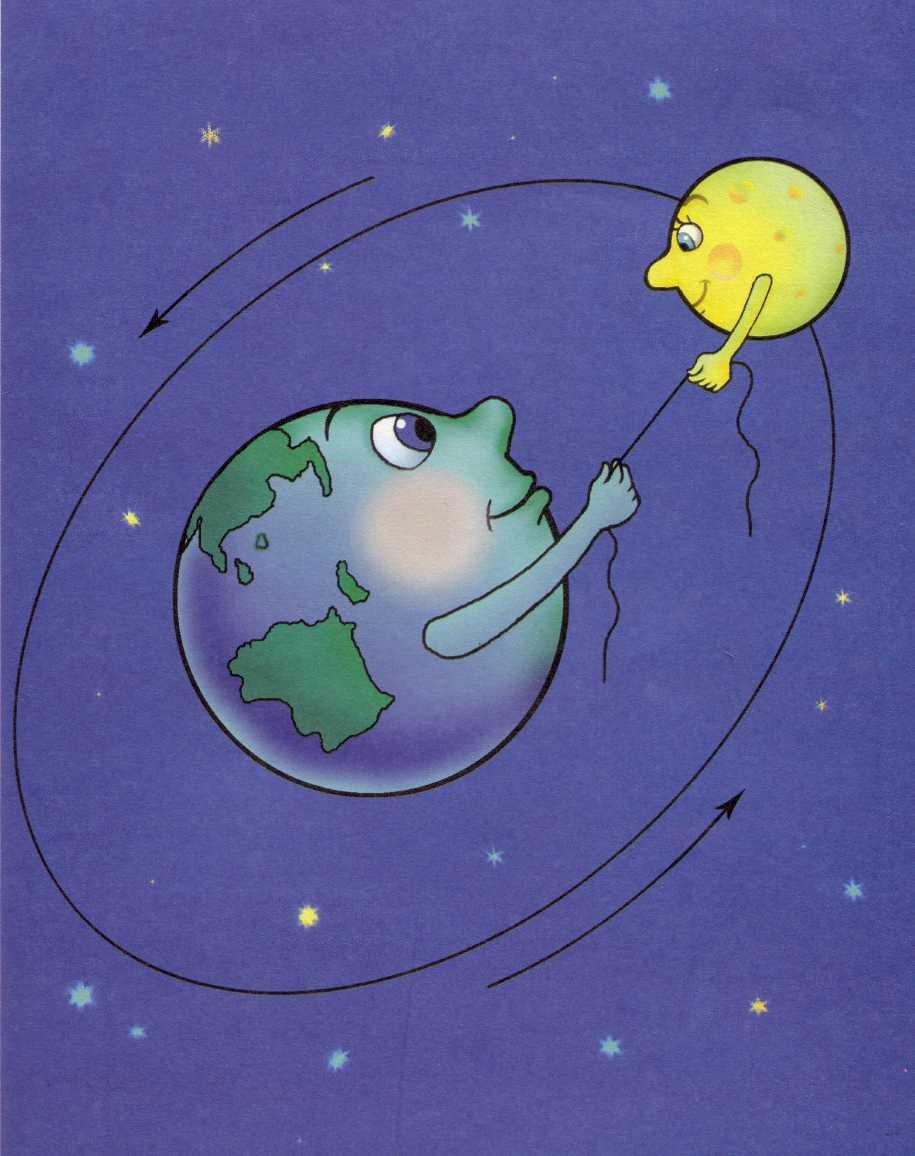 Картинки на тему луна внучка солнца